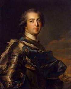 Portrait of Louis XV of France by Jean-Marc Nattier