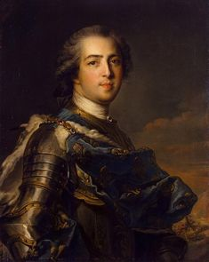 Portrait of Louis XV of France by Jean-Marc Nattier