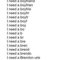 I need a Brendon Urie <3>>> everyone just needs a little Brendon Urie in their life