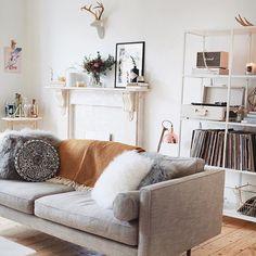 Wohn Esszimmer, Wohnzimmer Inspiration, Living Room Wohnzimmer, Haus  Wohnzimmer, Schlafzimmer Ideen,