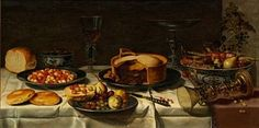 Breakfast still life by Floris Gerritsz. van Schooten
