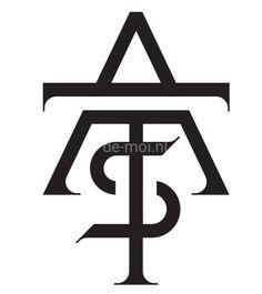 A-T-S monogram www. Examples Of Logos, Monogram Logo, Logo Design, Canada, Lettering, M Letter, Atelier, Drawing Letters, Brush Lettering
