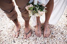 Barefoot Sandals: Fiji Wedding by Captured by Keryn