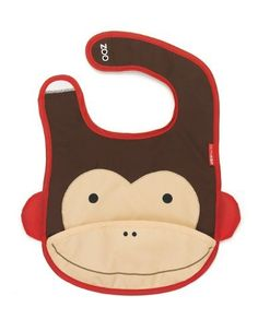 Skip Hop Zoo Bib, Monkey - Sale Price: $6.80 [ http://www.phashionique.com/skip-hop-zoo-bib-monkey-2/ ]