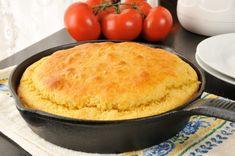 Kefir cornbread - Easy to veganise only 1 egg :) Easy Cornbread Recipe, Cornbread Salad, Buttermilk Cornbread, Cornbread Mix, Homemade Buttermilk, Skillet Cornbread, Homemade Cornbread, Cornbread Dressing, Homemade Breads