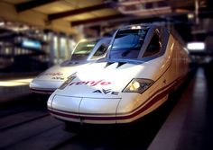 Tren AVE Madrid Valencia