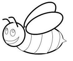 Dibujos para colorear: Insectos en primavera