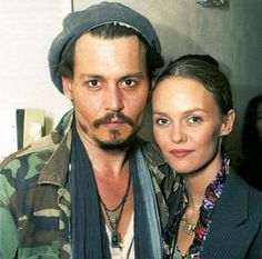 . Johnny Deep y Vanessa Paradise