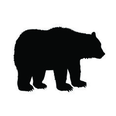 The Animal Stencils Page includes a variety of Free Printable Stencils of all kinds of animals. Here you'll find stencils ranging from common animals like Dogs and Cats, to more exotic ones, like Sea Creatures and Jungle Animals. Bear Stencil, Animal Stencil, Fish Silhouette, Animal Silhouette, Free Stencils, Printable Stencils, Free Printable, Make Your Own Stencils, Making Stencils