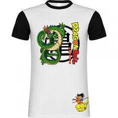 Camiseta Dragon Ball Goku Nube kinton y Dragon de SportShirtFactory en Etsy