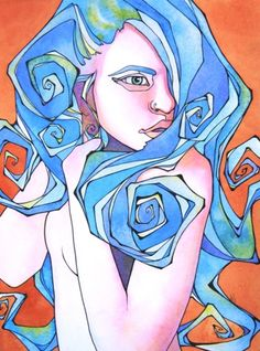 blue girl ~ tracy lewis