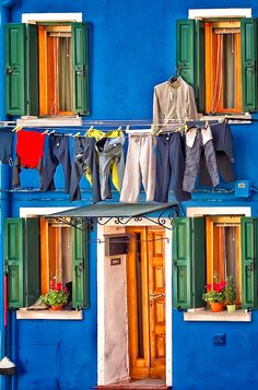 Every day in Burano, Italy