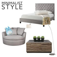"""""""Minimaliststyle"""" by xxlucyheartxx ❤ liked on Polyvore featuring interior, interiors, interior design, home, home decor, interior decorating, Tribecca Home and Minimaliststyle"""