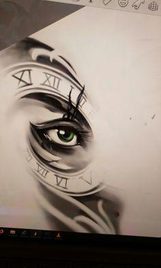 Eye design By Bryan Teach
