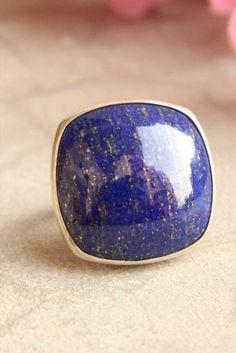 Lapis Lazuli 40x30mm Stone Cabochon Gemstone No 2094