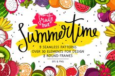 Summertime. Fruit Mix by chekart on @creativework247