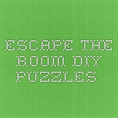 My friend & I want to have escape room nights once in a while. One of us will modify a room in his house with puzzles and riddles and all the others will try to escape. What are puzzle ideas for real escape rooms? Breakout Game, Breakout Edu, Breakout Boxes, Real Escape Room, Escape Room Diy, Youth Activities, Camping Activities, Escape The Classroom, Teen Programs