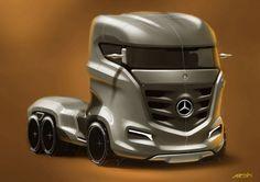 Mercedes-Benz Axor Concept Truck