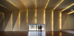 'Music hall and house in Algueña' by Cor & Asociados | Algueña, Spain.    the lighting is magnificent