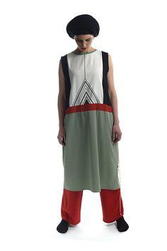 Die StadtSpionin | Modestrecke Linusch Marlene Dietrich Hose, Bunt, Apron, Fashion, La Mode, Linen Fabric, Cotton, Moda, Fasion