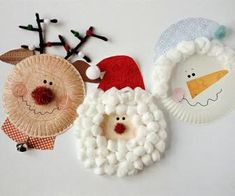 60 christmas decorations using paper plates-christmas craft - paper plate angel - paper plate craft. YOUR HOME DECORE christmas decorations using paper plates - Diy Christmas Decorations Using Paper Plates Winter and Christmas arts and crafts for kids and Preschool Christmas, Noel Christmas, Christmas Activities, Christmas Crafts For Kids, Christmas Projects, Holiday Crafts, Holiday Fun, Christmas Decorations, Christmas Paper