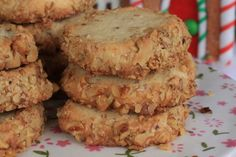 Cream Cheese Walnut Cookies