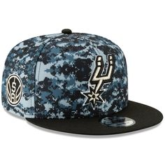 best service 54b03 7065c NBA hats ·   Men s San Antonio Spurs New Era Gray 2018 City Edition  On-Court 9FIFTY Snapback