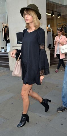 Prada Dresses Fall 2013 Work By Taylor Swift Black Lace Taylor Swift