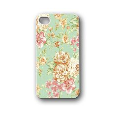 Flowers vintage Old pattern - ipod 4,5 - iphone 4,4s,5,5s,5c,6 - samsung galaxy s2,s3,s4,s5,note,mini - blackberry z10,q10 - htc - Google Nexus 4,5 - Sony Xperia Z1,Z2 cover, case, accessories, Gift