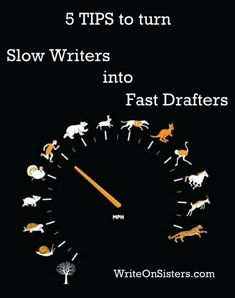 Can writers train themselves to write faster? This question is much debated. Many people say that yes, writers can learn to write fast, but (at least in my opinion) those people are short on action…