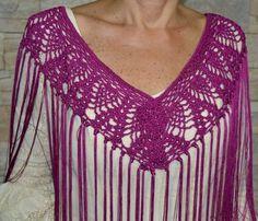 Mantocillo flamenca / crochet shawl