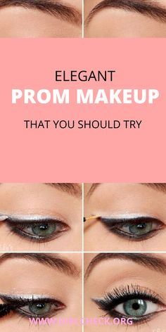 If you are about to graduate and want to look spectacular that day with a makeup that makes you look authentic, then I recommend you see these ideas that will inspire you to look beautiful. Prom Makeup, Eye Makeup, Elegant Makeup, Beauty Hacks, Most Beautiful, Lipstick, Inspire, Stylish, Party