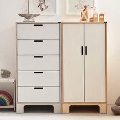 Kids Bedroom Designs, Room Design Bedroom, Bedroom Decor, Baby Wardrobe Ideas, India Home Decor, Cabinet Fronts, Home Office Setup, Modern Dresser, Wardrobe Design