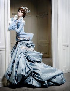 Mario Sierra / Christian Dior Haute Couture Fall 2007.