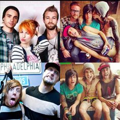 All of my favorite people<3  Hayley, Jeremy, and Taylor of Paramore.  David and Kyle of Breathe Carolina.  Kellin of Sleeping with Sirens.  Vic of Pierce the Veil.  Beau of blessthefall.  Matty of Memphis May Fire.  <3