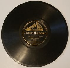 The Birds and the Brook 78 RPM Victor Record # 2766 (#2226) by CherishedAgain on Etsy