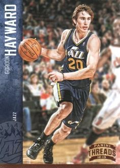 2012-13 Panini Threads Basketball #143 Gordon Hayward Utah Jazz NBA Trading Card by Panini Threads. $1.99. 2012 Panini Group trading card in near mint/mint condition, authenticated by Panini Authentic