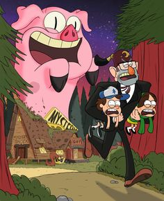 I'm not sure I like this fanart but it's gravity falls so I'm gonna pin it :/