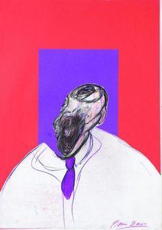 francis bacon: detalle: cabeza 1988 – verseando
