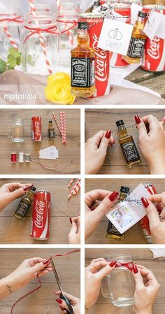 Ideas for sparkling wine reception at the wedding, # for gift . Ideas for champagne reception at the wedding, Source by hochzeitgeschenk Wedding List, Diy Wedding, Wedding Day, Inexpensive Wedding Venues, Unique Weddings, Vintage Weddings, Wedding Pinterest, Jar Gifts, Wedding Catering