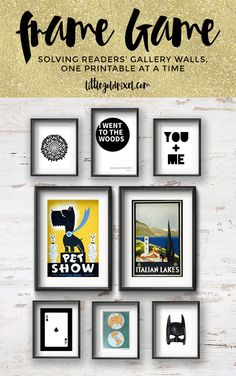 Fun & Fresh Gallery Wall for a Diverse Couple •Little Gold PixelLittle Gold Pixel