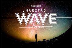 Electro Wave by Jamalodin on @creativemarket