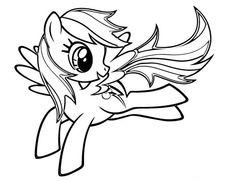 My Little Pony Rainbow Dash Jump