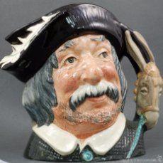 Toby jug jarra porcelana Royal Doulton Sancho Panza sello base 1956