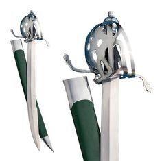 Scottish Basket-Hilt Cutlass Sword