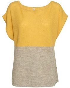 Cashllama two coloured top