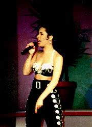 Selena at the Tejano Music Awards in 1992
