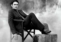 James Franco is the new face for gucci's new bespoke service.  http://fashionista.com/2011/10/james-franco-models-suits-for-gucci-in-campaign-for-the-labels-new-bespoke-service/