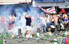Hooligans ingleses, Euro 2016