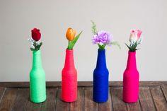 garrafas decoração